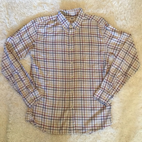 213688b5 Uniqlo Shirts | Mens Checkered Flannel Shirt | Poshmark
